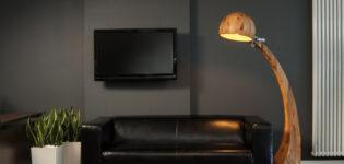Красивые практичные торшеры способны украсить интерьер любого помещения