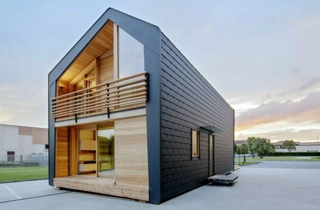 Модульные дома: устройство и нюансы установки на участке