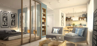 Разработка дизайн-проекта однокомнатной квартиры от специалистов