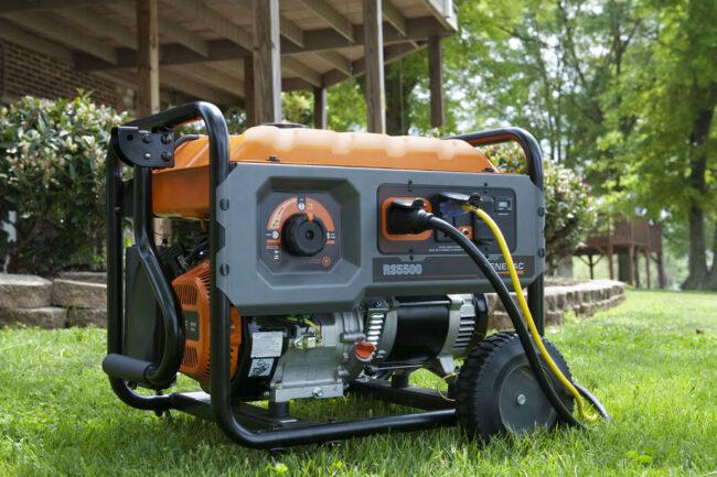 бензиновые генератор