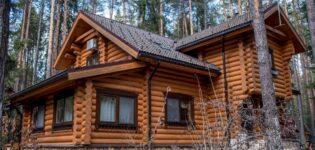 Дом из оцилиндрованного бревна. Его особенности