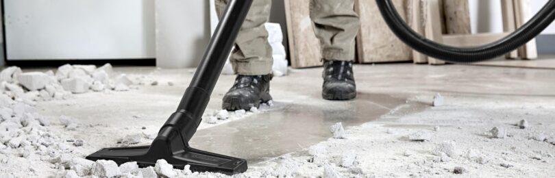 Рекомендации по выбору промышленного (строительного) пылесоса