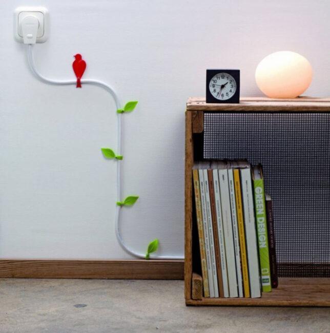 эстетическое оформление кабеля